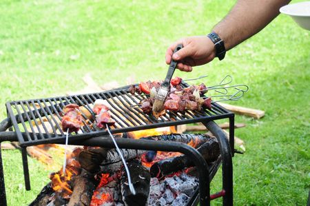 Barbecue.   photo