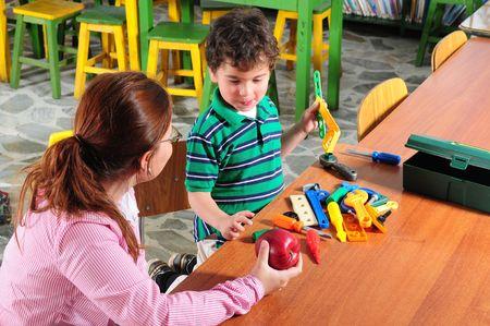 preschool education: Preschool.
