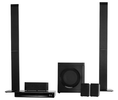 Home theater audio equipment photo