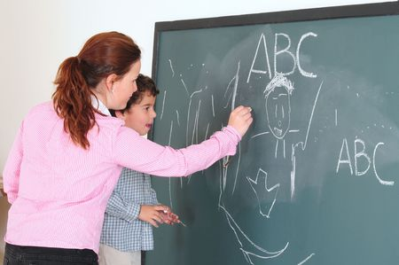 learning series: Teaching and Learning. Series, see more.... Stock Photo