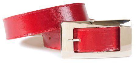 waistband: Red waistband. Clipping path