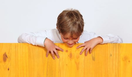 Playful boy. Stock Photo - 5795433