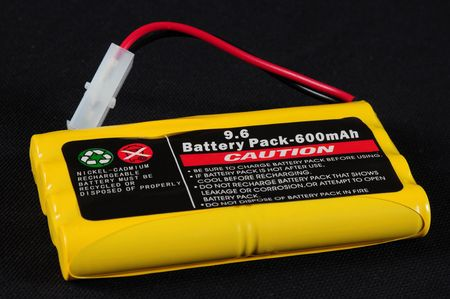 nimh: Rechargeable battery. Stock Photo