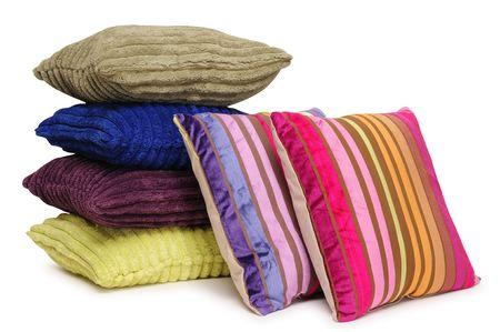 Cushions. Isolated Stock Photo - 6499443
