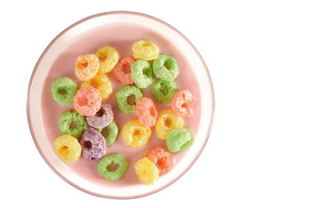 Cereal rings. photo