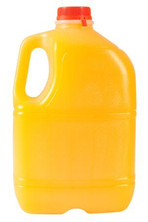 Orange juice. Isolated photo