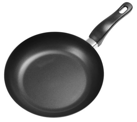 none: None stick pan. Isolated Stock Photo