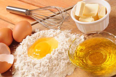 Crust ingredients. Stock Photo - 6783228