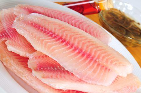 tilapia: Tilapia fish. Stock Photo