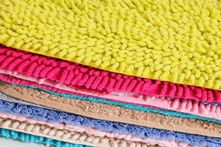 Colorful carpets. photo