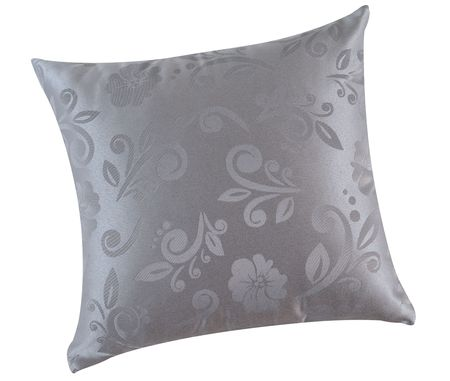 overlapped: Floral pillow. Isolated
