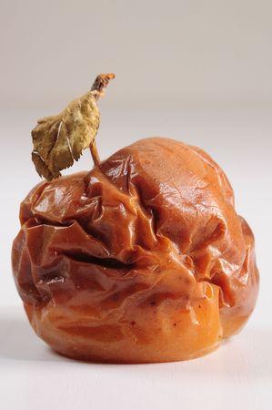 rotten: Rotten apple. Conceptual. Stock Photo
