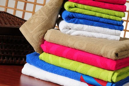 Colorful towels. Stock Photo - 7330928