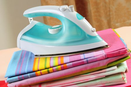 Ironed sheets. Stock Photo - 7330914