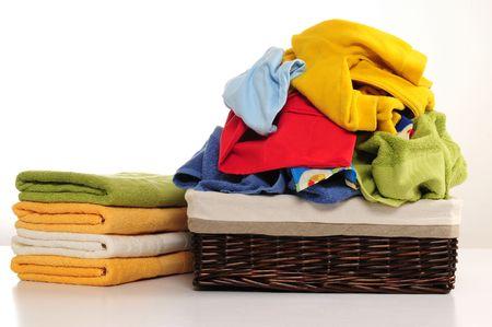 Laundry basket. Stock Photo - 7330907