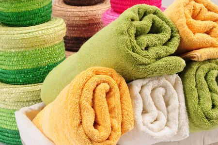 Colorful towels. Stock Photo - 7356787