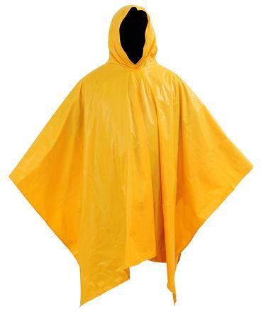 raincoat: Raincoat. Isolated