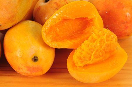 Juicy mango. photo