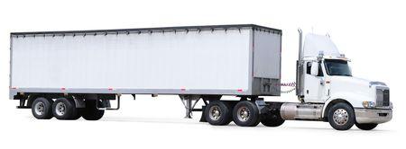 trailer: Cami�n de carga. Aislado