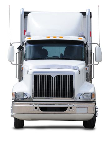 Cargo truck. Isolated Stock Photo - 7467994