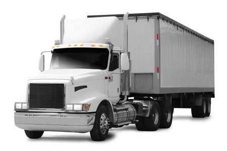 Cargo truck. photo