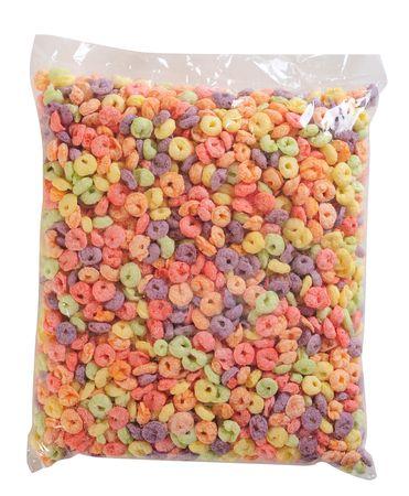 cereales: Embalaje de cereales. Aislado