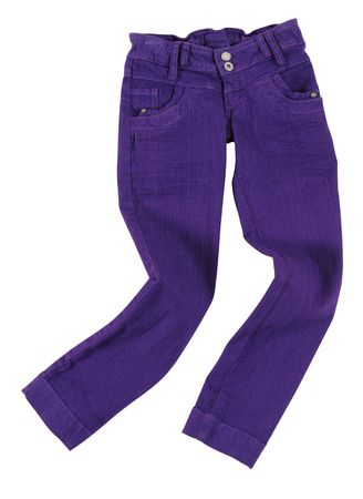 Pants. Isolated photo