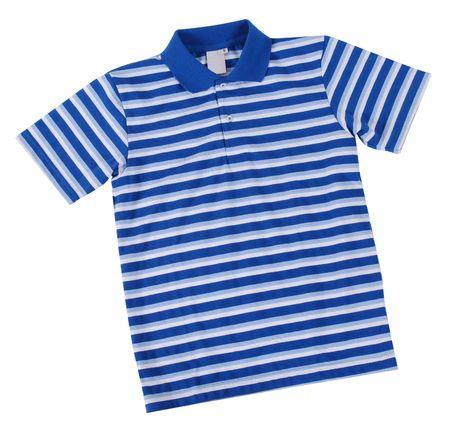 Polo shirt. Isolated photo