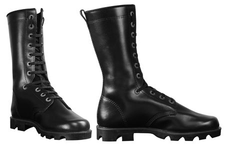 Army boots. photo