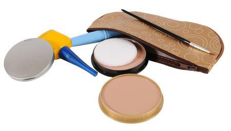 Cosmetics. Isolated photo