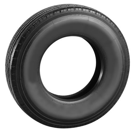 Tire. Isolated photo