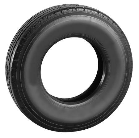 Tire. Isolated Stock Photo - 8061376