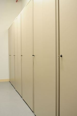 Lockers. photo
