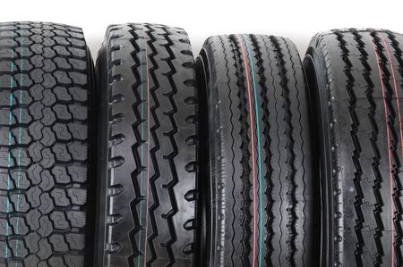 Tire stack. photo