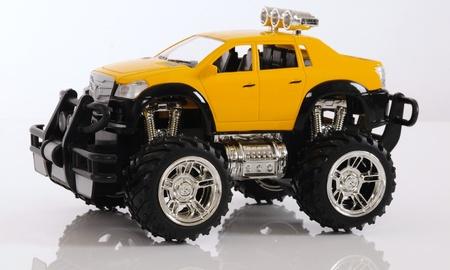 Toy jeep. photo
