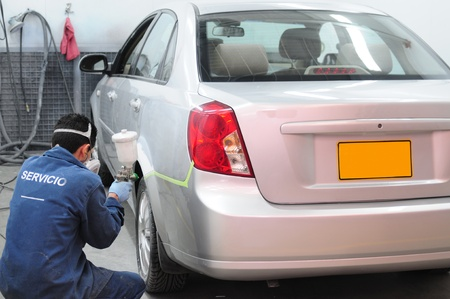 reparation automobile: Atelier de r�paration automobile.