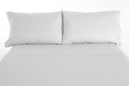 White bed. Stock Photo - 8664112
