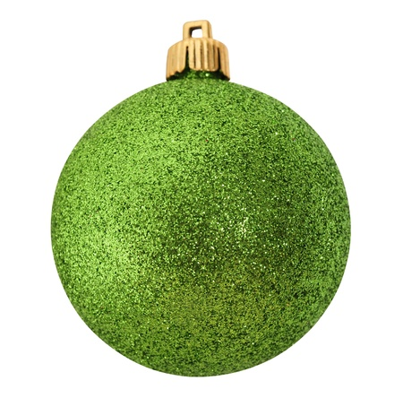 Bauble. Isolated photo