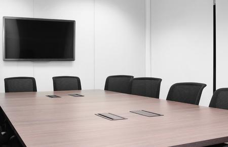 conference table: Boardroom.