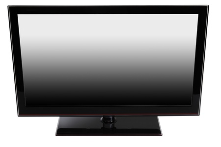 Television. Isolated Stock Photo - 9385766