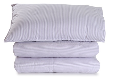 Bedding. Isolated Stock Photo - 9385791