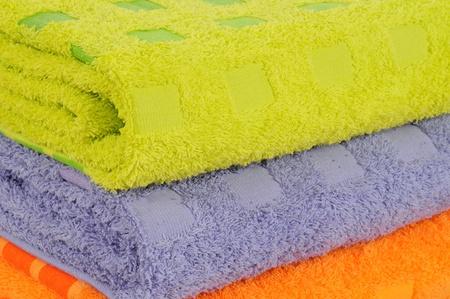 Bath towels. Stock Photo - 9315472