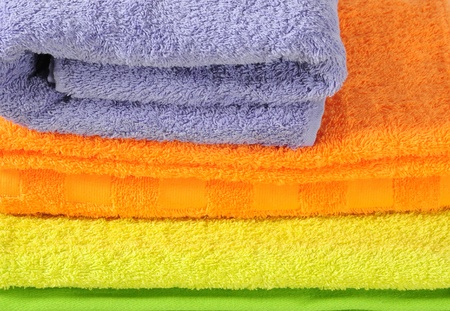 Bath towels. Stock Photo - 9315474