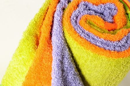 Bath towels. Stock Photo - 9315473