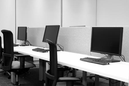 Computer lab. Stock Photo