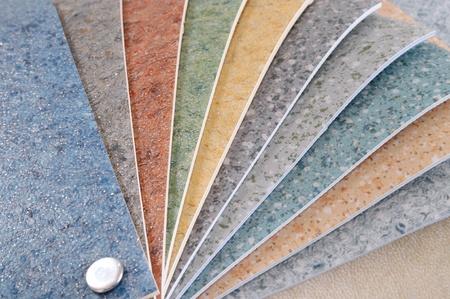 Flooring samples. photo