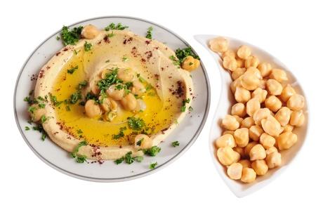 dip: Hummus. Isolated