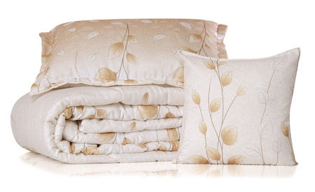 Bedding. Isolated Standard-Bild