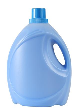 detersivi: Bottiglia di detersivo. Isolato Archivio Fotografico