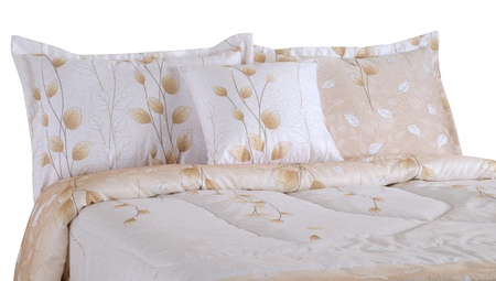 Bedding. Isolated Stock Photo - 9674688
